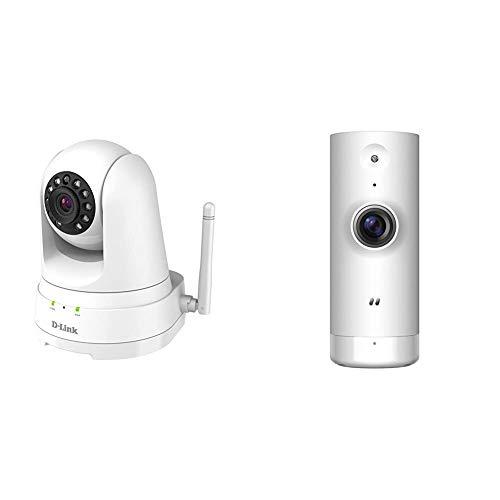 D-Link DCS-8525LH - Cámara de vigilancia/Seguridad WiFi con Acceso Desde móviles + DCS-8000LH - Cámara IP WiFi de vigilancia con Acceso Desde móviles