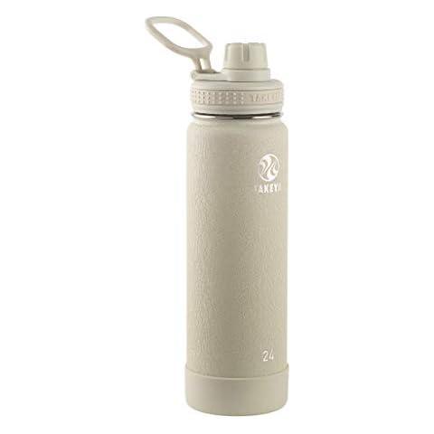 YEBODA Glass Water Bottles 18oz Bottles For Beverage and Juicer Use Stainless St