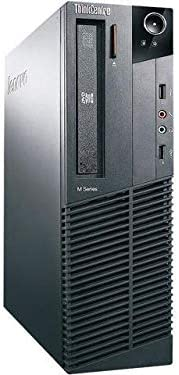 (Renewed) Lenovo ThinkCentre M82p Desktop (Core I3 2120 3.3 Ghz, 4 GB RAM, 500gB HDD, Win 10 Pro, MS Office/ Intel Q6...