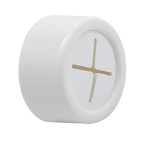 ORYX 5393015 Colgador Adhesivo Cocina Blanco Ø 40 mm