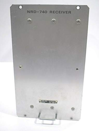 JRC NRD-740 SV-3.1 V-0172(3.7) MF/HF Double Superheterodyne Scanning Receiver (IMI- 1125040680070)