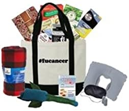 Just Don't Send Flowers The Big Queasy Chemo Gift Basket for Men - F U Cancer