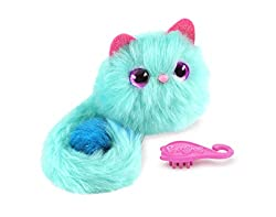 Pomsies have up to 50 different sound reactions to your stroking, cuddle, and tickle The purr-fact accessory for your arm, clothing, hair, backpack and more Colour changing eyes light up and sparkle depending on the mood A special freeze dance mode y...