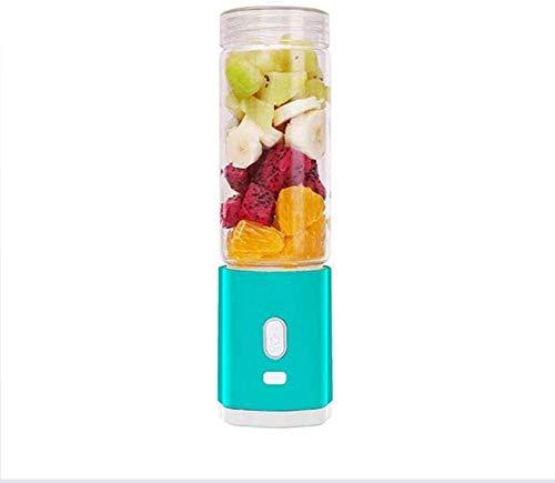 GPWDSN Entsafter Mixer, Smoothie Maker Personal Blender Leaf Juice Cup Mixer Saftmaschine USB-Haupt Saft Cup Grün