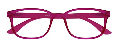 I NEED YOU Lesebrille Rainbow, 1.50 Dioptrien, pink
