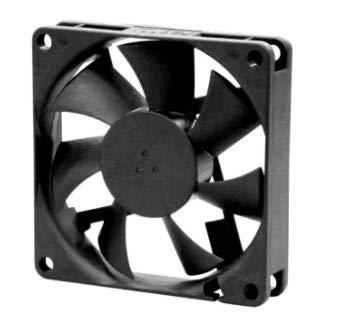 Teensy Sunon ME - Ventilador axial CC (12 V CC/1,56 W, 70 x 70 x 15 mm, 3300 rpm, 27 cfm)