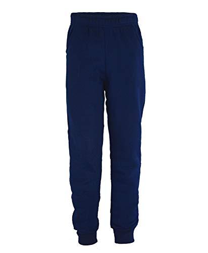 LOTMART - Chándal - niño Negro Trousers Navy 5-6