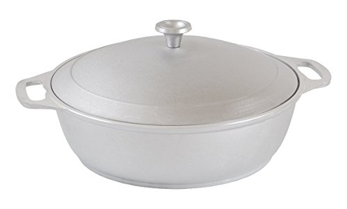 rukauf Marmite avec couvercle 4 l en fonte d'aluminium Kazan Kasan