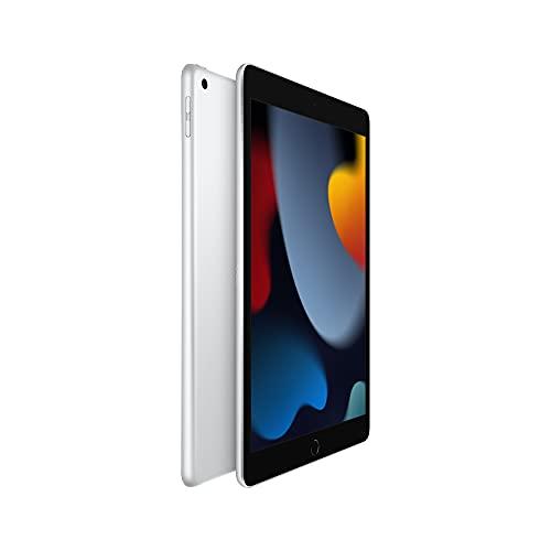 2021 Apple 10.2-inch (25.91 cm) iPad with A13 Bionic chip (Wi-Fi, 256GB) - Silver (9th Generation)
