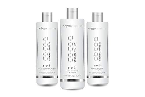 elyssa cosmetics cocoa organic Taninoplastie, blanc, 300 millilitre