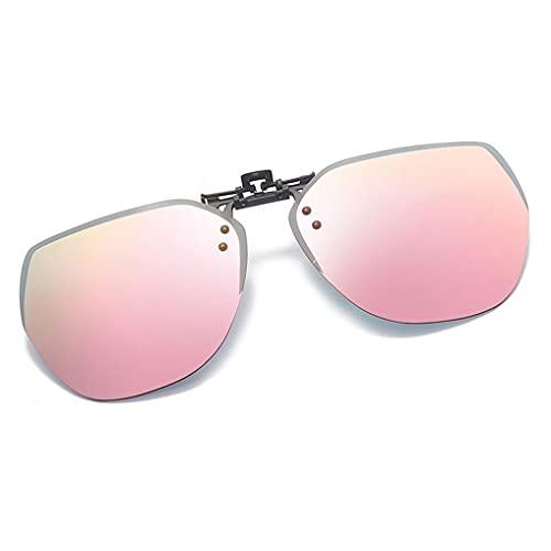 LIPIODOL Gafas de sol polarizadas, unisex, con clip en las gafas deportivas, con protección UV400, antirreflejos, para exterior, conducción, pesca, turquesa, Talla única