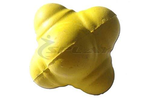 Splay Cricket Reaction Ball - Yellow