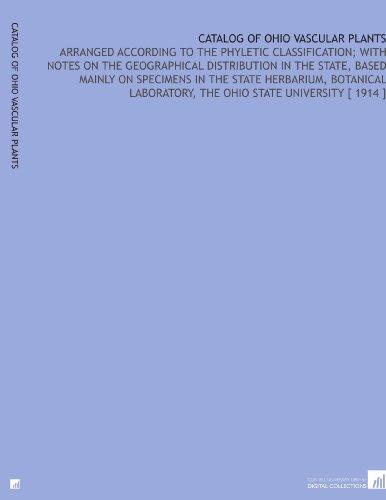 Catalog of Ohio Vascular Plants