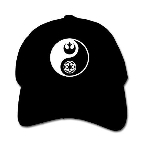Rebel-and Empire Logo Yin-Yang Unisex Kinder Mütze Sonnenhut Hip Hop Kappe Verstellbare Sportkappe Teen Hut Kinder Entenschnabel Kappe