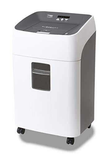 Dahle 35314 Aktenvernichter (300 Blatt, P-4, Partikelschnitt, öl- und wartungsfrei, Automatischer Papiereinzug) weiß/ grau