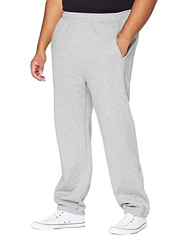 Urban Classics Sweatpants, Pantalon De Sport coupe large Homme, Gris (Grey), W42 (Herstellergröße: 4XL)