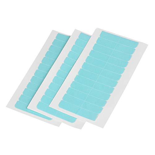 EBANKU 240 Stücke Ersatztapes für Tape In Hair Extensions Ersatztapes Klebestreifen Hohe Klebekraft Haar Klebeband für Haarverlängerungen Haareinschlag