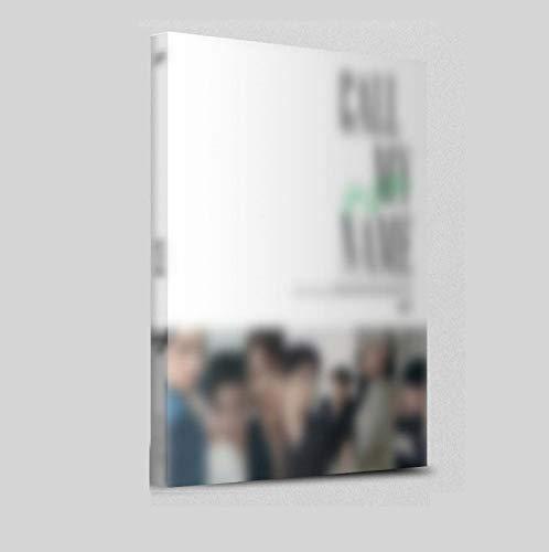 GOT7 Bel Mijn Naam Pre Bestel [D ver Mini Album CD, Fotoboek, Gevouwen Poster, Pre Bestel Voordeel met Extra Decoratieve Sticker Set, Clear Fotokaart
