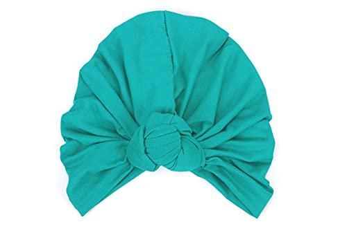 Las mujeres sombrero turbante mezcla de algodón yoga pullover Caps Beanie India turbante sombrero accesorios para el cabello al aire libre