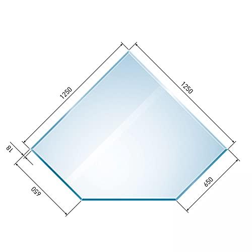 raik B40001 Raik Kamin Glasplatte Diamant 2 inkl. Facette