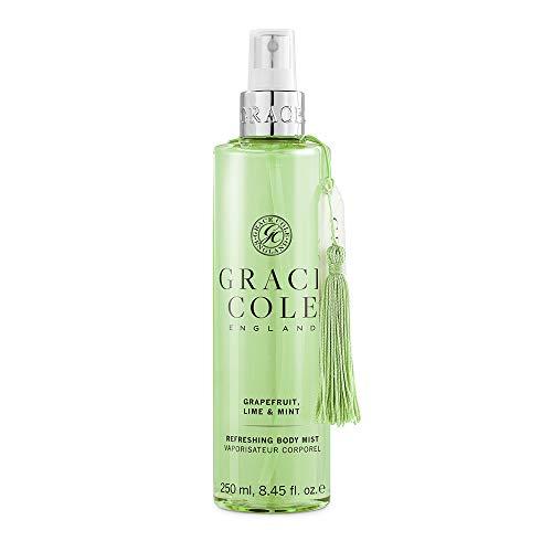 Grace Cole Grapefruit, Lime & Mint Refreshing Body Mist, 1 x 250ml