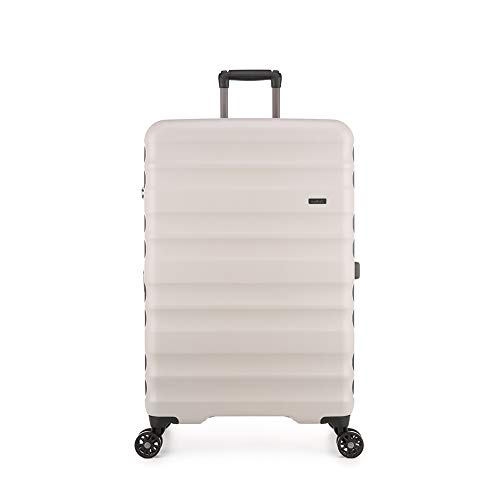Antler Clifton Suitcase Large | Hard Case | Hard Shell Suitcase | Large Spinner Suitcase | Lightweight | Expandable | Extra Large Suitcase | Spinner Luggage | XL Luggage Set