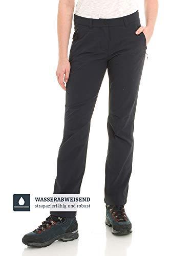 Schöffel Damen Pants Engadin1 strapazierfähige Damen Hose für Wanderungen, wasserabweisende Outdoor Hose mit sportlichem Schnitt