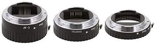 Meike - Juego de Anillos intermedios para fotografía Macro de Canon (13 mm, 21 mm, 31 mm)