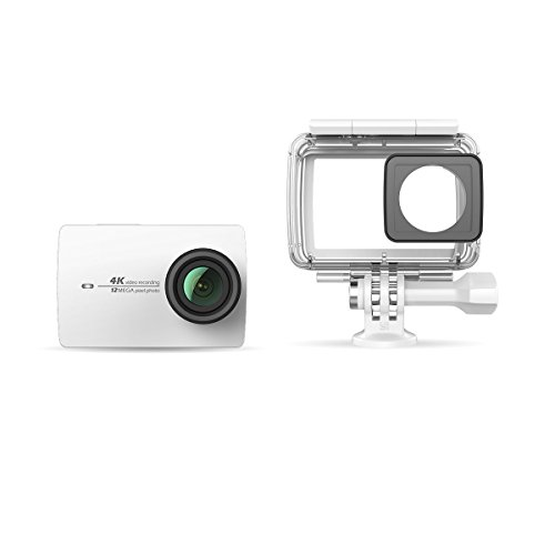 Yi 4K WH + WP Fotocamera di azione e di sport 4K/30fps Wi-Fi Bianco