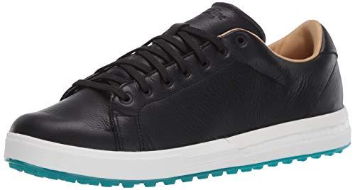 adidas Adipure Sp 2 Golfschuh für Herren, Schwarz (Core Black/Grey Six/Glory Green), 40 EU