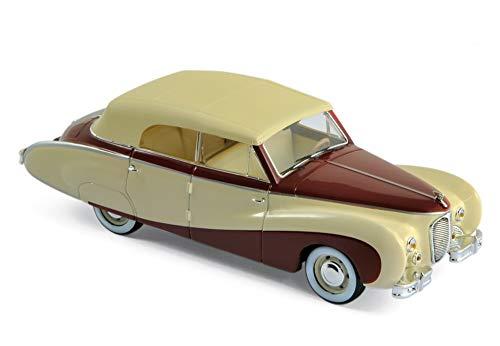 Norev 070013 Austin A125 Sheerline 1947 - Beige & Dark Red