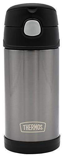 Thermos Funtainer 12 Ounce Bottle Charcoal