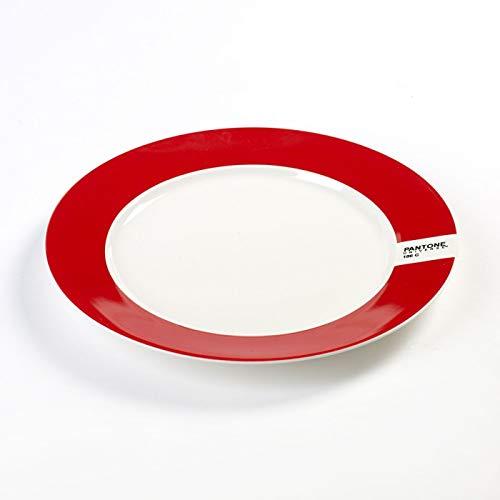 Assiette Ø25 186C Rouge