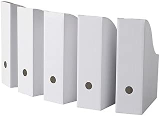 Ikea Flyt Magazine file, Pack of 5, White