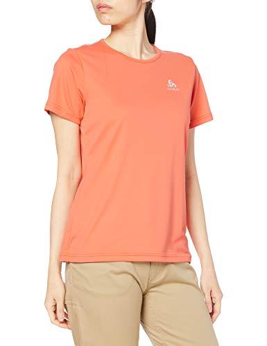 Odlo T- Shirt s/s Crew Neck CARDADA Femme, Corail, s