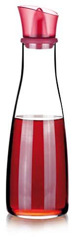 Tescoma 642775 Vitamino Acetiera, Vetro, Rosso, 500 ml, 1 Pezzo