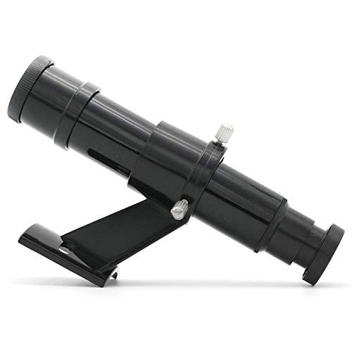 Adanse Astronomisches Teleskop Sucherfernrohr optisch mit Sehwinkel Fadenkreuz schwarz ohne Monokular 5X24