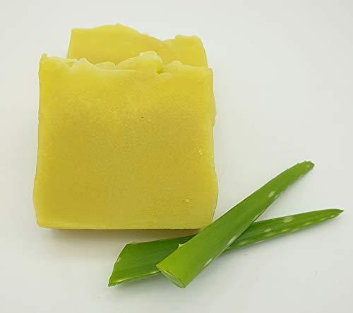 Duschbutter Aloe Vera, besonders reichhaltige Seife, Duschseife, vegan, hohe Überfettung, ohne Palmöl, handgemachte Naturseife von kleine Auszeit Manufaktur