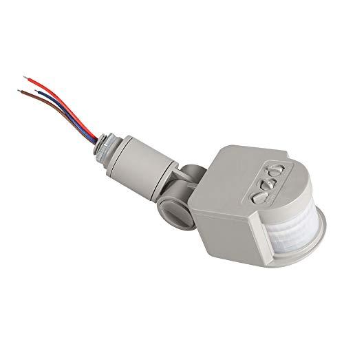 Tomantery Sensor de Movimiento, Detector Interruptor Detector de 180 Grados Interruptor Inductor de Alta sensibilidad para luz de Pared para lámparas