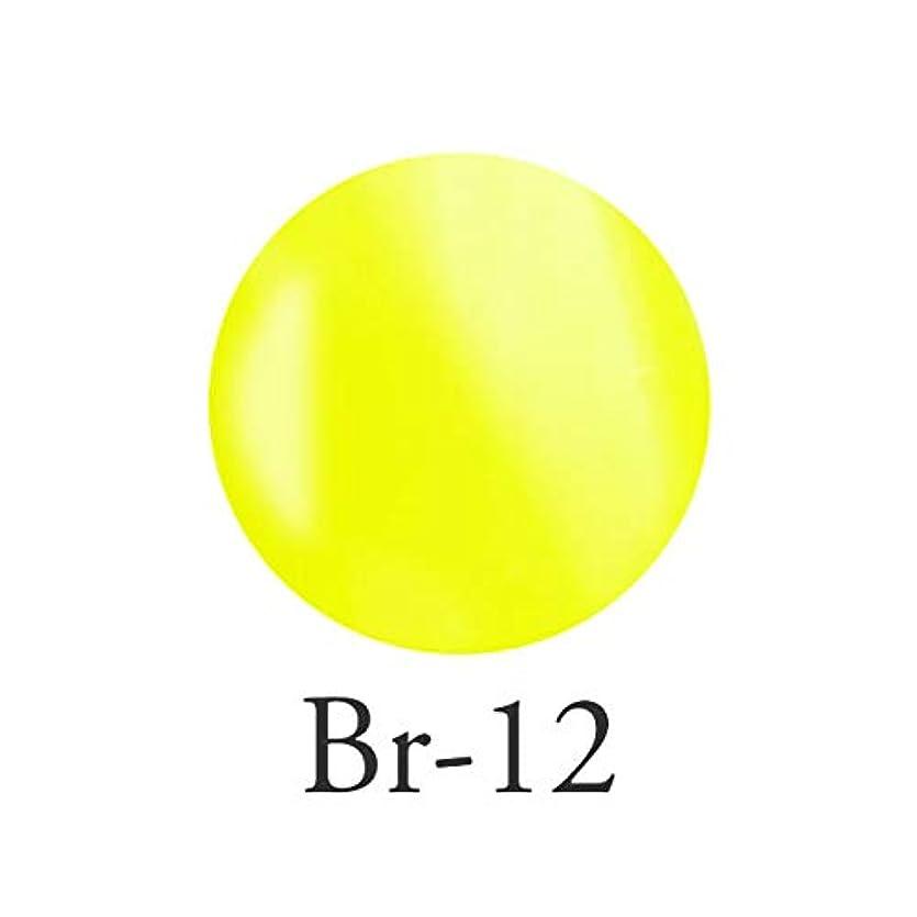 土ブッシュワーディアンケースエンジェル クィーンカラージェル オデットイエロー Br-12 3g