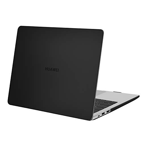 MOSISO Case Only Compatible with Huawei MateBook D 14 inch 2020 2019 Release, Protective Plastic Hard Shell Case, Black