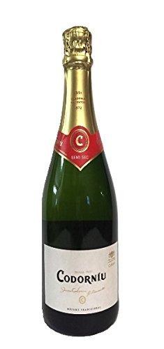 Cava Codorniu Semi Seco 12% 6-0,75l Flasche