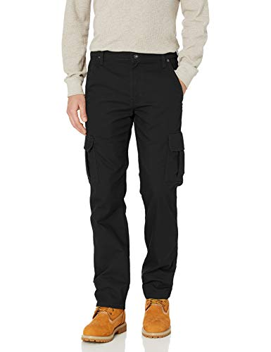 Dickies Herren Tough Max Duck Cargo Pant Arbeitshose, Stonewashed Black, 32W / 30L