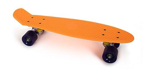 Small foot company - 6785 - Skateboard - Orange Néon