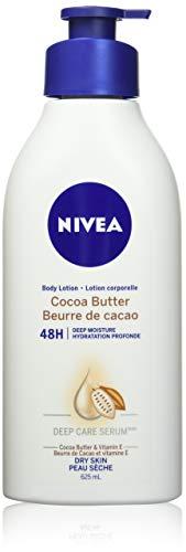 NIVEA Cocoa Butter 48H Deep Moisture Body Lotion for Dry Skin 625ml, Skin Lotion with Cocoa Butter and Vitamin E, Body…