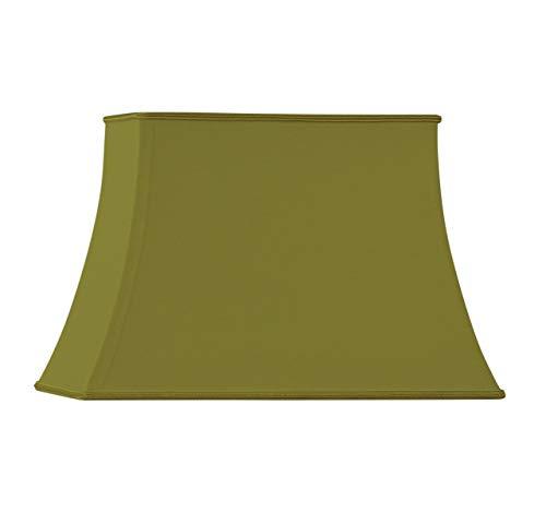 HUGUES RAMBERT 3760151506222 lampenkap, rechthoekig, groen brons