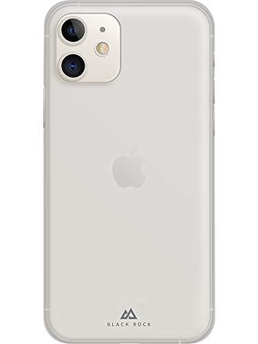 Black Rock - Ultra Thin Iced Hülle Hülle für Apple iPhone 11 | halb-transparent, dünn, schlank, durchsichtig (Transparent)
