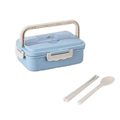 cioler- Scatola per Il Cibo/Lunch Box/Snack Container - Divided Food Container - Tre...