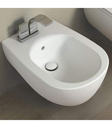 /Mo Noir charni/ère cromo-sedile-asse WC Abattant WC Flaminia EFI/