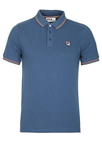 Fila Vintage Matcho Polo Shirt | True Navy Small